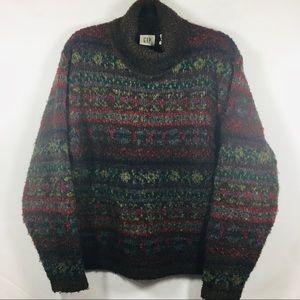 Gap Chunky Knit Turtleneck Sweater